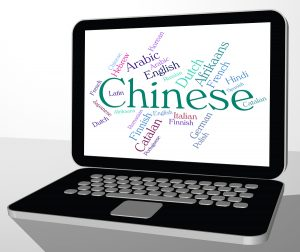 Chinese Language Representing Speech Translate And Wordcloud